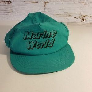 Marine World vintage hat